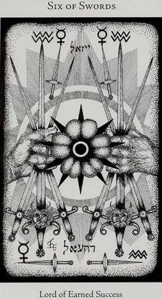Hermetic Tarot- Schwerter 06