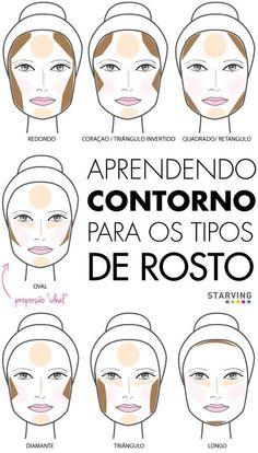 Veja como valorizar seu tipo de rosto com a maquiagem. #bijouxmix #make #maquiagem #dicas