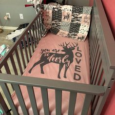 Custom Made Baby Bedding Llama Desert Cactus Floral Baby Girl Nursery Bedding, Nursery Bedding Sets, Crib Bedding, Babies Nursery, Baby Girl Camo, Camo Baby Stuff, Baby Boys, Deer Baby Showers, Baby Girl Quilts