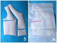 FBA (full bust adjustment) how-to tutorial  :: paunnet ::: Sureau Sew-along