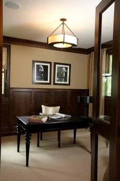 """dark Wood Chair Rail"" +""dark Wood Wainscoting"" Design Ideas, Pictures, Remodel, and Decor - page 2"