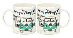 Campervan Gift - VW Getting There is Half The Fun Campervan Mug, (http://www.campervangift.co.uk/vw-getting-there-is-half-the-fun-campervan-mug/)