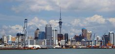 Auckland Cityscape, New Zealand. New Zealand North, Work Visa, The Beautiful Country, South Island, Small Island, Auckland, So Little Time, Great Britain, Places Ive Been
