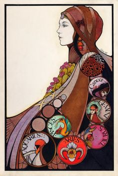 David Palladini is an American illustrator, best known for his Aquarian Tarot decks and illustrations of children's books, especially The Girl Who Cried Flowers and other tales by Jane Yolen (T. Y. Crowell, 1973). His style is reminiscent of the Art Nouveau illustrations of Alfons Mucha and Aubrey Beardsley.