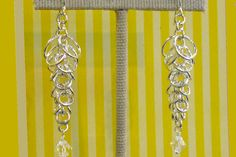 Cascade Earring Supplies - This project requires 18ga 7.0mm ID (4); 18ga 6.5mm ID (4);18ga 6.0mm ID (4);18ga 5.5mm ID (4);18ga 5.0mm ID (4);18ga 4.5mm ID (4);18ga 4.0mm ID (4);18ga 3.5mm ID (4);18ga 3.0mm ID (22);18ga 2.5mm ID
