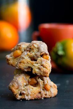 Persimmon Cinnamon Scones