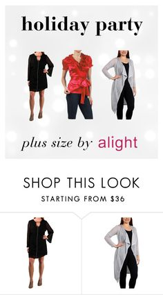 holiday party plus size by alight-com on Polyvore  #plussize #plussizefashion #plussizeclothing