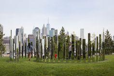 New York in Augen von Jeppe Hein