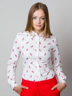 Koszule damskie z długim rękawem na każdą okazję - sklep internetowy Willsoor Shirt Blouses, Shirts, Buttons, Tops, Women, Fashion, Moda, Fashion Styles, Dress Shirts