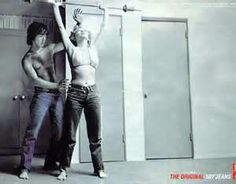 Marilyn Monroe Levis Ad Campaign