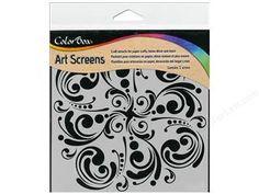 New: ColorBox Art Screens Stencil Mandala