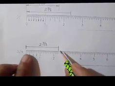 Escalas Lectura De Medidas En Pulgadas Youtube En 2020 Lectura Escala De Reduccion Tecnicas De Dibujo