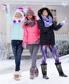 Let it snow! Our cozy coats, boots and accessories will keep you warm!