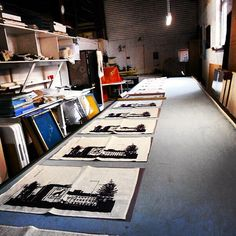 #PSAS #artstudio #fremantle #freo #screenprint