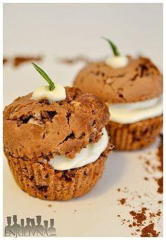 Muffins dos chocolates