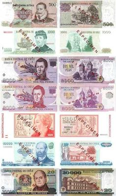 World currency notes pictures.