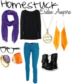 I may not be Aquarius but this is cool, smaller earrings though.<<<alas, I am Aquarius and I find this cool still. I agree on your earring comment.<<<Those pants tho. Casual Cosplay, Cute Cosplay, Cosplay Outfits, Cosplay Ideas, Nerd Fashion, Only Fashion, Homestuck Fashion, Polyvore Casual, Aquarius Rising