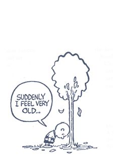 suddenly…  comic byCharles M. Schulz:: scanned from The Complete Peanuts :: Fantagraphics Books :: 2004