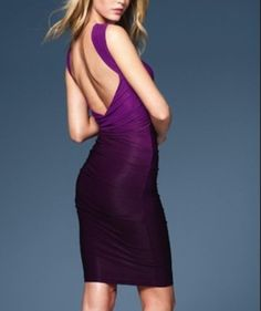Victoria's Secret Purple Plum Ombre Dress, size Small, fits Extra Small 0 2 USE THIS LINK http://www.ebay.com/itm/171459975471?ssPageName=STRK:MESELX:IT&_trksid=p3984.m1555.l2649