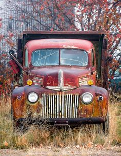 Montana commercial photographer specializing in agriculture photography, farm & ranch photography, cowboy photos, cowgirl photos & travel photos of Montana and rural America. Vintage Trucks, Old Trucks, Ford Tractors, Rusty Cars, Old Fords, Abandoned Cars, My Face Book, Car Pictures, Cool Photos