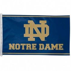 This officially licensed NFL x flag has attached D-rings to use for hanging. The imprinted design is show through to the backside as a reverse image, with a long lasting color-fast die. Fly on a flagpole or hang it on a wall. Made by WinCraft. Notre Dame Logo, Notre Dame Irish, Basketball Tickets, Uk Basketball, Fighting Irish, Sports Fan Shop, Team Logo, Nfl