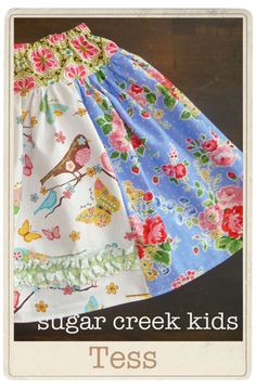 Girls Twirl Swing SkirtBoutique Kids by SugarCreekKids on Etsy, $29.95