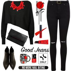 How To Wear Rock It!High-Waisted Skinny Jeans Outfit Idea 2017 - Fashion Trends Ready To Wear For Plus Size, Curvy Women Over 20, 30, 40, 50