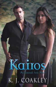Next up is #Kim sharing her thoughts on Author K. J. Coakley's Kairos!