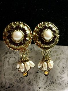 Vintage Signed Sorrelli Clip Back Earrings in Jewelry & Watches, Vintage & Antique Jewelry, Costume   eBay