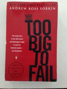 Too Big to Fail Andrew Ross Sorkin Andrew Ross Sorkin, Washington Street, Street Fights, Book Worms, Fails, Literature, Big, Literatura, Book Nerd