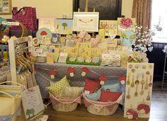 craft fair display -- spring
