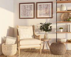Living Room Nook, Small Living Room Design, Living Room Modern, Living Room Furniture, Living Room Designs, Living Room Decor, Bedroom Nook, Cozy Living, Bedroom Ideas