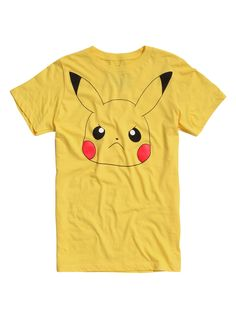 Pokemon Angry Pikachu T-Shirt   Hot Topic