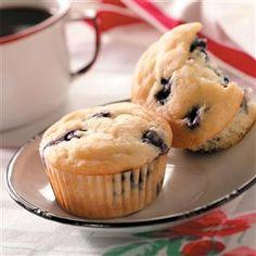 Blueberry Yogurt Muffins Recipe | Taste of Home