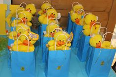 Easy Baby Shower Decorations for Boys – Rubber Duck Baby Shower Ideas – Baby Shower Ideas for Boys – Grandcrafter – DIY Christmas Ideas ♥ Homes Decoration Ideas Ducky Baby Showers, Baby Shower Duck, Rubber Ducky Baby Shower, Simple Baby Shower, Boy Baby Shower Themes, Baby Shower Parties, Diy Baby Shower Decorations, Baby Shower Centerpieces, Rubber Duck Birthday