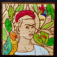 Frida, le amo  #fridakahlo #prendedor #pin