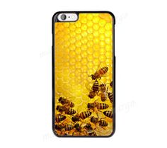 Honey-Bees-Phone-Case-Cover-for-iPhone-iPod-Samsung-Sony-Bee-Wax-Bumblebee-Bee