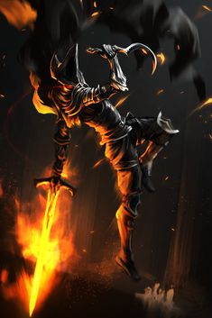 Farron's Undead Legion - The Abyss Watchers Dark Souls 3, Arte Dark Souls, Dark Fantasy Art, Dark Art, Ornstein Dark Souls, Soul Saga, Bloodborne Art, Dark Blood, Fantasy Characters
