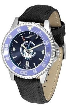 The Citadel Bulldogs Men's Leather Wristwatch by SunTime. $78.95. Adjustable Band. Officially Licensed The Citadel Bulldogs Men's Leather Wristwatch. Men. AnoChrome Dial Enhances Team Logo And Overall Look. Poly/Leather Band. College leather wristwatch with AnoChrome face. Citadel Bulldogs wrist watch has functional rotating bezel color-coordinated with team logo. A durable, long-lasting combination nylon/leather strap, together with a date calendar, round out ...