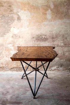Creating Stylish Homes on a Budget: Repurpose - like this recycled old wood that is now a table!....no 3