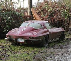 1963 Corvette Stingray - I want to rescue it and make it BEAUTIFUL!!