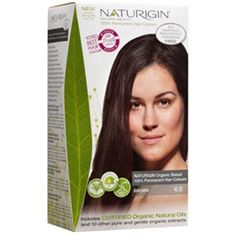 Naturigin Permanent Organic Hair Color, Brown -- Check out this great product. (This is an affiliate link and I receive a commission for the sales)