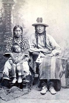 Crooked Face Wife and Son - Crow