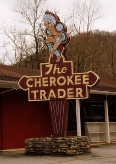 The Cherokee Trader, Cherokee, NC