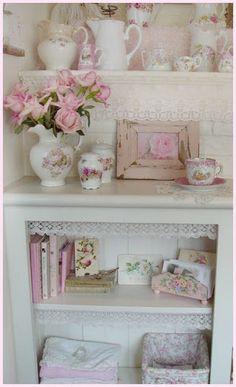 Vintage pink shabby...charming...