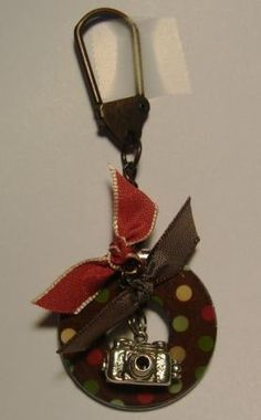 Metal Washer key chain by NCSUnikki - Cards and Paper Crafts at Splitcoaststampers