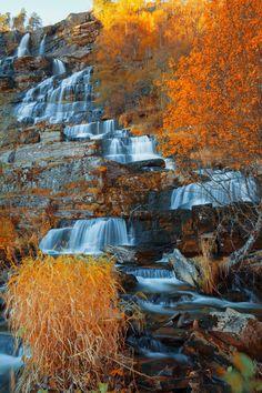 Steps by Tore H. ~ Tvindefossen Falls Voss Hordaland Norway.**