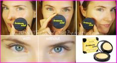 HOW TO CONCEAL UNDEREYE CIRCLES & HIGHLIGHT IN 1 STEP! (Benefit Lemonaid)    REPIN & KEEP READING & WATHING MY VIDEO TUTORIAL ON MY BLOG!    http://www.theinsideoutbeauty.com/2013/05/how-to-conceal-undereye-circles.html    Beauty, Beauty Blogger, Bloggers, Makeup, Makeup Tutorials, Benefit Cosmetics, Benefit makeup, Lemon Aid, concealer, highlighter, tutorials, video, beauty gurus, youtube, beauty bloggers
