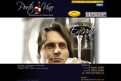 Site em HTML, CSS e JQuery para Porto Vino - 2011