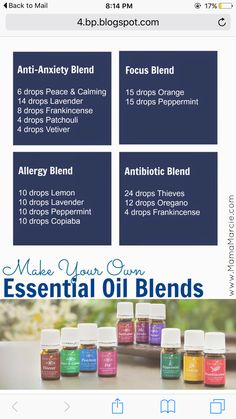 Mama Marcie: Make Your Own Essential Oil Blend Young Living Essential Oils. Doterra Essential Oils, Natural Essential Oils, Essential Oil Blends, Yl Oils, Doterra Oils, Healing Oils, Aromatherapy Oils, Young Living Oils, Young Living Essential Oils